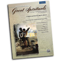 Various Arrangers : Great Spirituals (Portraits in Song) - Low Voice : Solo : Songbook : 038081297965  : 00-26386