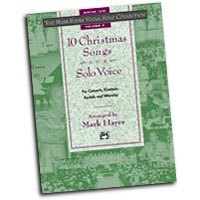 Mark Hayes : The Mark Hayes Vocal Solo Collection: 10 Christmas Songs for Solo Voice : Solo : Songbook & CD : 038081170893  : 00-18921