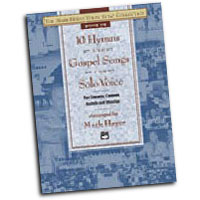 Mark Hayes : 10 Hymns & Gospel Songs for Solo Voice - Medium Low : Solo : Songbook : 038081180908  : 00-19103