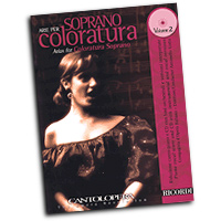 Various Composers : Cantolopera - Arias for Coloratura Soprano Vol. 2 : Solo : Songbook & CD :  : 884088463335 : 50489948
