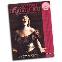 Various Composers : Cantolopera - Arias for Dramatic Soprano Vol. 2 : Solo : Songbook & CD :  : 884088457709 : 50489947