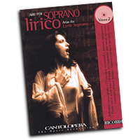 Various Composers : Cantolopera - Arias for Lyric Soprano Vol. 2 : Solo : Songbook & CD :  : 884088457785 : 50489946