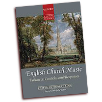 John Rutter (editor) : English Church Music, Volume 2: Canticles and Responses : SATB : 01 Songbook : 9780193368446 : 9780193368446
