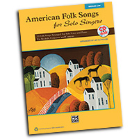 Jay Althouse : American Folk Songs for Solo Singers : Solo : Songbook & CD :  : 038081397634  : 00-35567