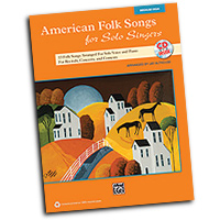 Jay Althouse : American Folk Songs for Solo Singers : Solo : Songbook & CD :  : 038081397603  : 00-35564
