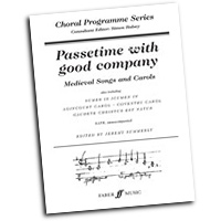 Jeremy Summerly : Passetime with Good Company : SATB : 01 Songbook : Jeremy Summerly :  : 9780571520336 : 12-0571520332