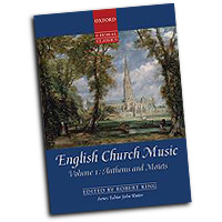Various Arrangers : English Church Music Vol 1 - Anthems & Motets : SATB : 01 Songbook : 9780193368415 : 9780193368415
