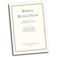 Lajos Bardos : Music for Christmas and Easter : SATB : 01 Songbook : 073999198522 : 50511024