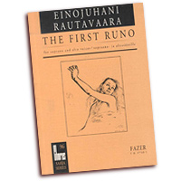 Einojuhani Rautavaara : The First Runo : Treble SSAA : 01 Songbook : 073999941852 : 48000687