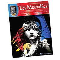 Alain Boublil and Claude-Michel Schonberg : Sing With The Choir - Les Miserables : Solo : Songbook & CD : 884088245573 : 1423440374 : 00333009