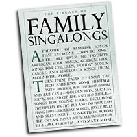 Various Arrangers : The Library of Family Singalongs : Unison : 01 Songbook : 752187986591 : 0825634989 : 14019035