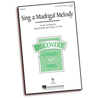Mary Donnelly : Sing a Madrigal Melody - Parts CD : Parts CD : 884088612771 : 08552362