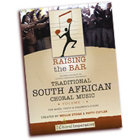 Mollie Stone & Patty Cuyler : Traditional Choral Music From South Africa Vol 1 : SATB : 01 Songbook & 1 DVD : RTB-SA1