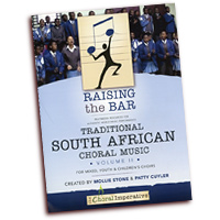 Mollie Stone & Patty Cuyler : Traditional Choral Music From South Africa Vol 2 : SATB : 01 Songbook & 1 DVD : RTB-SA2