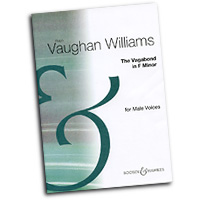 Ralph Vaughan Williams : The Vagabond : TTBB : Sheet Music : 073999976045 : 48009642