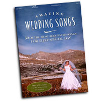 Various Composers : Amazing Wedding Songs : Solo : Songbook & CD : 645757054472 : 75705447