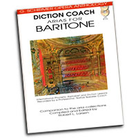 G. Schirmer Opera Anthology : Diction Coach - Arias for Baritone : Solo : Songbook & CD :  : 884088082673 : 1423413113 : 50486259