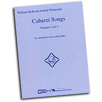 William Bolcom : Cabaret Songs - Volumes 3 & 4 : Solo : Songbook :  : 073999697711 : 0793591163 : 00740106