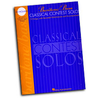 Various Composers : Classical Contest Solos - Baritone / Bass : Solo : Songbook & CD : 073999837957 : 0793578000 : 00740076