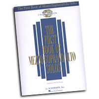 Joan Frey Boytim : The First Book Of Mezzo-Soprano / Alto Solos : Solo : Songbook & CD :  : 073999837827 : 0634020471 : 50483782