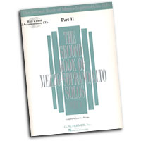 Joan Frey Boytim : The Second Book of Mezzo-Soprano / Alto Solos Part II : Solo : Songbook & CD :  : 073999852264 : 0634065688 : 50485226