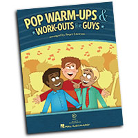 Roger Emerson : Pop Warm-Ups & Work-Outs for Guys : 01 Book & CD Warm Up :  : 08750118