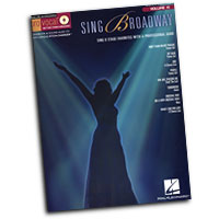 Pro Vocal : Sing Broadway - Women's Edition : Solo : Songbook & CD : 884088279400 : 1423465520 : 00740419
