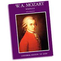 Wolfgang Amadeus Mozart : Solfeggios and Vocal Exercises : Solo : Vocal Warm Up Exercises : UEO12656