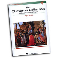 Richard Walters (Editor) : The Vocal Library - The Christmas Collection: High Voice : Solo : Songbook : 073999549751 : 0634030701 : 00740153