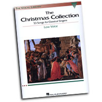 Richard Walters (Editor) : The Vocal Library - The Christmas Collection: Low Voice : Solo : Songbook : 073999526486 : 063403071X : 00740154
