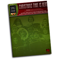 "Sing With The Choir : <span style=""color:red;"">Christmas Time Is Here</span> : Solo : Songbook & CD : 00333012"