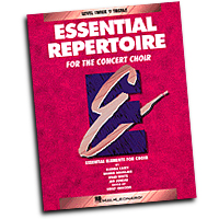 Bobbie Douglass / Brad White / Glenda Casey / Jan Juneau : Essential Repertoire for the Concert Choir - Level 3 Treble, Teacher : Treble : 01 Songbook : 073999401202 : 0793543509 : 08740120