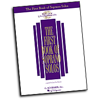 Joan Frey Boytim : The First Book of Soprano Solos (Book/CD) : Solo : 01 Songbook & 2 CDs :  : 073999837810 : 0634020463 : 50483781