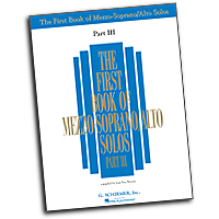Joan Frey Boytim : First Book of Mezzo-Soprano Solos - Part III : Solo : 01 Songbook :  : 073999297171 : 0634098640 : 50485885
