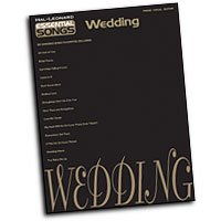 Various Arrangers : Essential Songs - Wedding : Solo : Songbook :  : 884088055981 : 1423409299 : 00311309