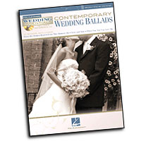 Various Arrangers : Contemporary Wedding Ballads : Solo : Songbook & CD :  : 884088463946 : 1423488628 : 00311942