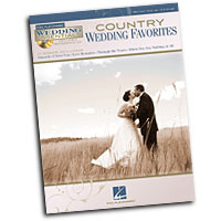 Various Arrangers : Country Wedding Favorites : Solo : Songbook & CD :  : 884088530280 : 1423499204 : 00312069