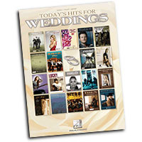 Various Arrangers : Today's Hits for Weddings : Solo : Songbook : 884088608675 : 1458416437 : 00312316