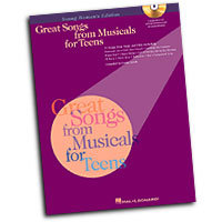 Louise Lerch (editor) : Great Songs from Musicals for Teens : Solo : Songbook & CD : 073999967487 : 0634031465 : 00740164