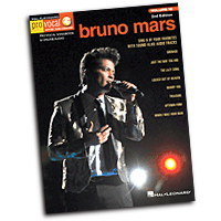Bruno Mars : Pro Vocal for Singers : Solo : Songbook : 888680076351 : 149502833X : 00148089