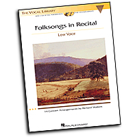Richard Walters : Folksongs in Recital - 14 Concert Arrangements - Low Voice : Solo : 01 Songbook :  : 884088113322 : 1423421353 : 00000474