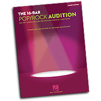 Michael Dansicker : The 16-Bar Pop/Rock Audition - Women's Edition : Solo : 01 Songbook : 884088312497 : 1423468864 : 00001215