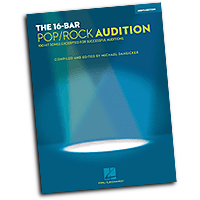 Michael Dansicker : The 16-Bar Pop/Rock Audition - Men's Edition : Solo : 01 Songbook : 884088312503 : 1423468872 : 00001217