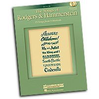 Richard Rodgers and Oscar Hammerstein : The Songs of Rodgers & Hammerstein - Tenor : Solo : 01 Songbook & 2 CDs : 884088393397 : 1423474767 : 00001230