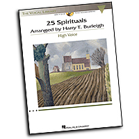 Harry T. Burleigh : 25 Spirituals - High Voice : Solo : 01 Songbook & 1 CD : 884088616724 : 1458418227 : 00230110