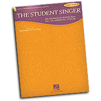 Various Arrangers : The Student Singer - High Voice : Solo : 01 Songbook & 1 CD : 884088590697 : 1458411249 : 00230104