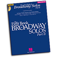 Joan Frey Boytim : The First Book of Broadway Solos - Part II - Mezzo-Soprano : Solo : 01 Songbook :  : 884088150938 : 1423427114 : 00001112