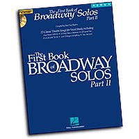 Joan Frey Boytim : The First Book of Broadway Solos - Part II - Tenor : Solo : 01 Songbook : 884088150969 : 1423427122 : 00001113