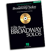 Joan Frey Boytim : The First Book of Broadway Solos - Baritone/Bass : Solo : Accompaniment CD : 073999360462 : 0634094963 : 00740326