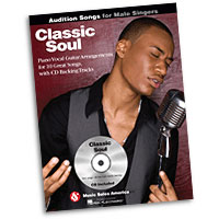 Classic Soul : Audition Songs for Male Singers : Solo : Songbook & CD : 884088469399 : 1423489519 : 14037455